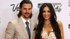 Erik and Melinda Karlsson appear at an event in Ottawa.