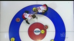 Team Canada curlers tested by Denmark