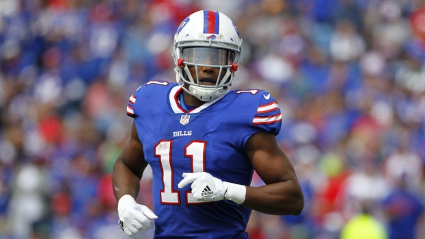 Young Bills wide receiver arrested in naked, bloody mess