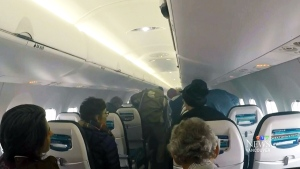 Smoke forces WestJet passengers to evacuate