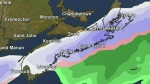 Another nor'easter approaches the Maritimes