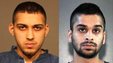 Police are searching for 21-year-old Parmvir Singh Chahil of Abbotsford and 25-year-old Ronjot Singh Dhami of Surrey