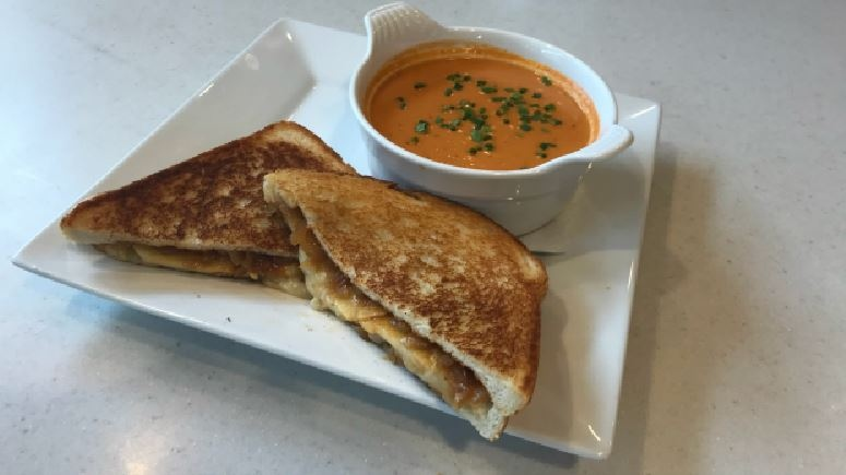 A grilled cheese sandwich is seen in this file photo.