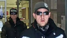 Bank robbery in North Bay