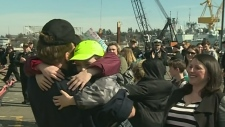 History made as navy sub returns to CFB Esquimalt