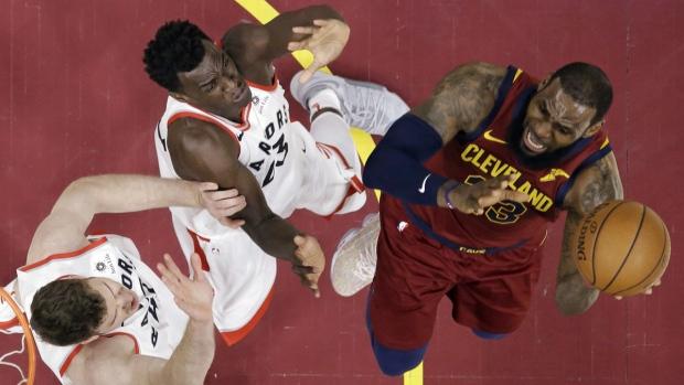 Raptors defending against LeBron James