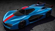 Pininfarina H2 Speed hypercar concept