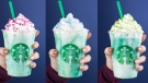 Starbucks Crystal Ball Frappucino