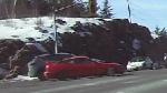 Sudbury police arrest driver of red 2-door car