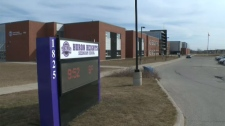 Police say they received a report from staff at the school in Kitchener on Tuesday.