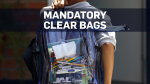 Parkland students to wear clear backpacks