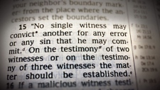 The 'two-witness rule'