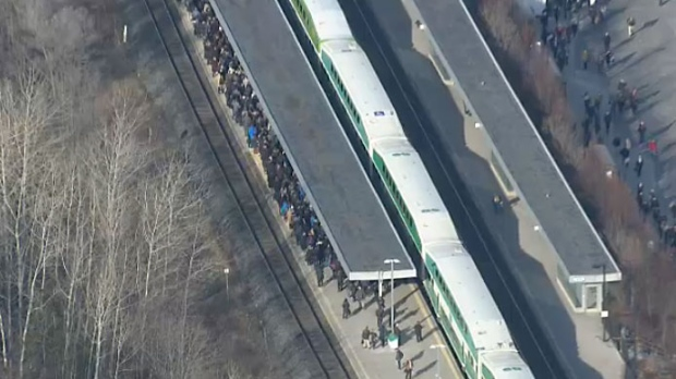 Pedestrian struck and killed by VIA train in Mississauga