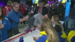 Meet and greet with curling fans in North Bay