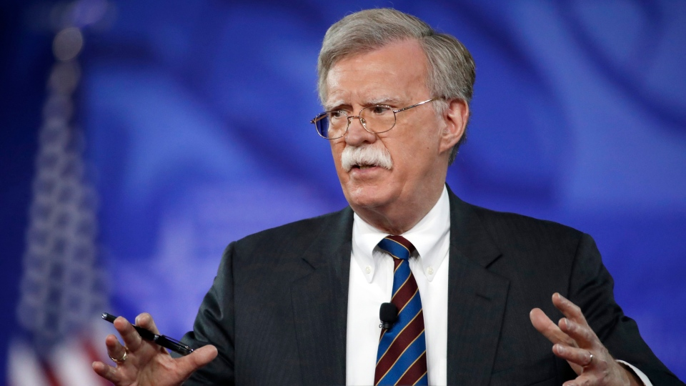 In this Feb. 24, 2017, file photo, former U.S. Ambassador to the UN John Bolton speaks at the Conservative Political Action Conference (CPAC) in Oxon Hill, Md. President Donald is replacing National security adviser H.R. McMaster with Bolton. (AP Photo / Alex Brandon, File)