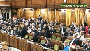 Marathon voting continues in the HoC