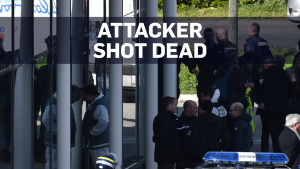 Armed hostage taker in France shot dead by police