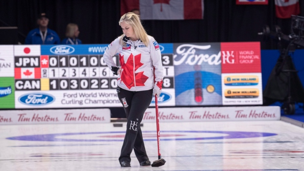 Canada skip Jennifer Jones