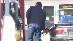 The average price at the pump in our region is about $1.25 but as high as $1.30 per litre Friday.