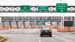 The United States border crossing is shown Wednesday, December 7, 2011 in Lacolle, Que., south of Montreal. (THE CANADIAN PRESS/Ryan Remiorz)