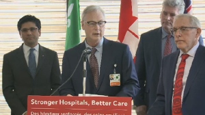 In front of hospital staff today, Liberal MPPs and MPs announced up to $1.8 billion to help build a new Civic Hospital building on the Sir John Carling Site.