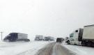 Crash on Ring Road in Regina on March 23, 2018. (GARETH DILLISTONE/CTV REGINA)
