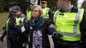 May, arrest