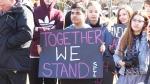 Cambridge students rally against gun violence