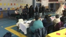 Youths on the Kawacatoose First Nation perform their music video on March 22, 2018 (Creeson Agecoutay / CTV Regina)