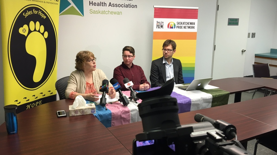 Moose Jaw Pride is helping fund a pilot project for funding for the rural transgender community (Jessica Smith / CTV Regina)