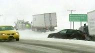 Winter storm hits southern Sask.