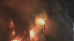 Fire on Bishop St. Irish Embassy