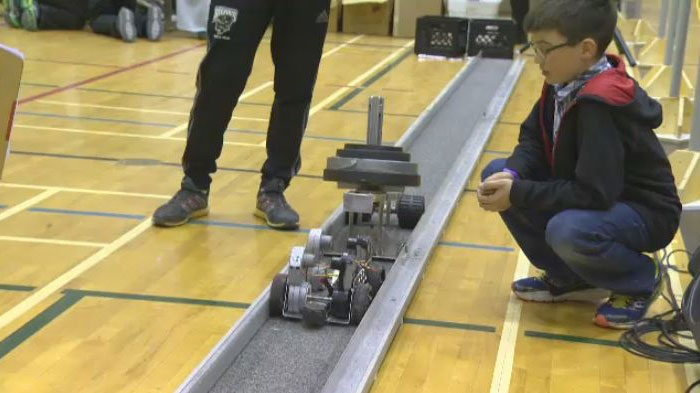 Students compete in Manitoba Robot Games