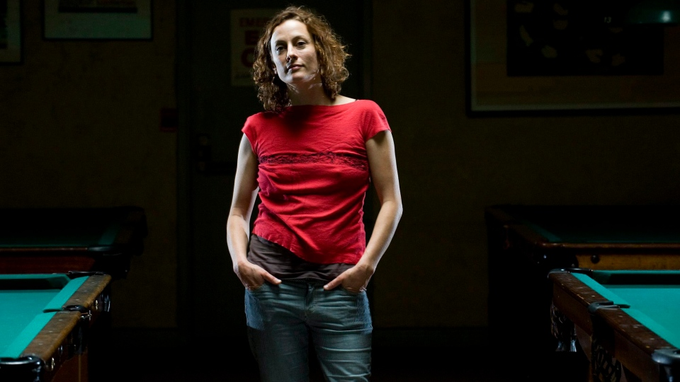 Singer Sarah Harmer poses for portrait in Toronto, on Monday, June 14, 2010. (THE CANADIAN PRESS/Adrien Veczan)
