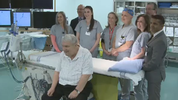 John Peacock says the transformative treatment has given him a whole new appreciation for technology and the team at New Brunswick's Heart Centre.