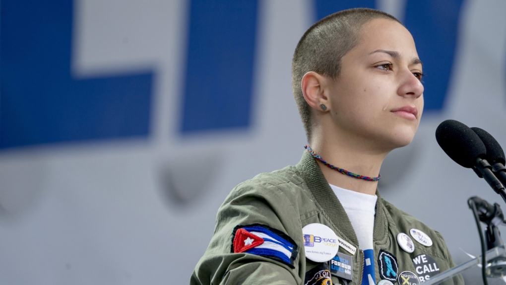 Emma Gonzalez in Washington