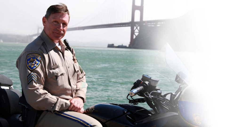 Former California Highway Patrol officer Kevin Briggs is shown in this image from his website.
