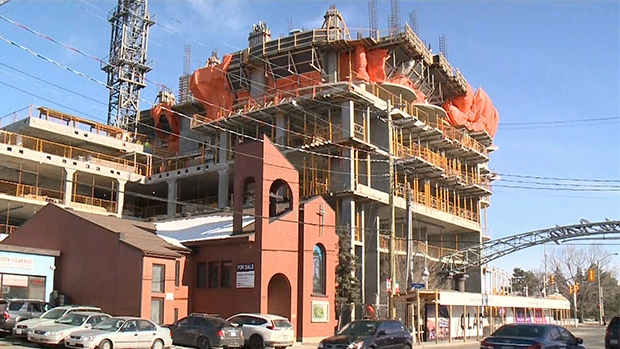 Stop work order issued at Claridge Icon construction site | CTV News