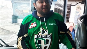 Raiders fans trek to Moose Jaw for playoff support