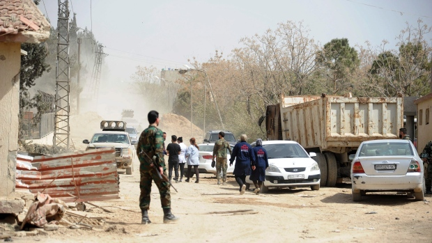 Over 114000 Syrian leave Eastern Ghouta during humanitarian pauses