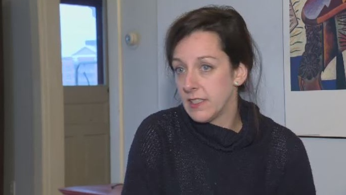 Carly Sutherland has taken a leave from work to care for her son, Callum, who lives with severe autism. She also pays seven different respite workers to help out.