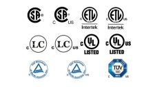 Canadian electrical certification marks