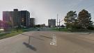 Riverside Drive at Riverdale in Windsor. (Courtesy Google Maps)
