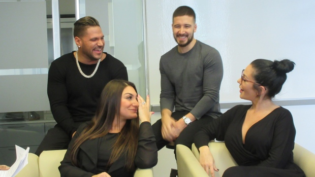 More laughs expected when 'Jersey Shore Family Vacation' premieres April 5 on MTV Canada. (Murtz Jaffer / CTV News)