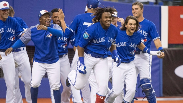 Vladimir Guerrero Jr. Hits Walk-off Homer in Montreal
