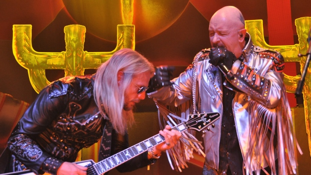 Judas Priest at Budweiser Gardens in London, Ont., on Tuesday, March 27, 2018. (Jim Hayes / CTV London)