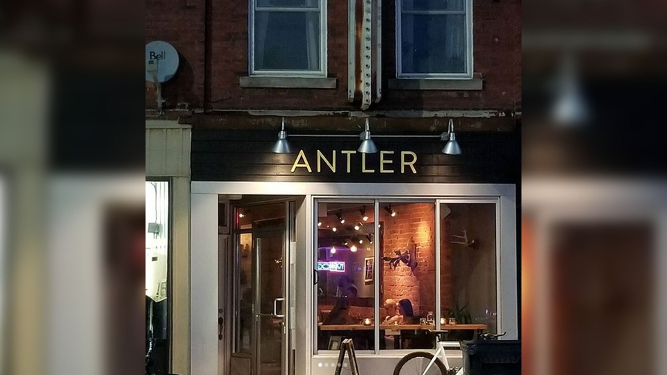 Antler Kitchen & Bar in Toronto is known for serving locally foraged ingredients and meats including wild boar, venison, bison, and deer. (keithchenrealtor / Instagram)