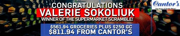 Supermarket Scramble Winner