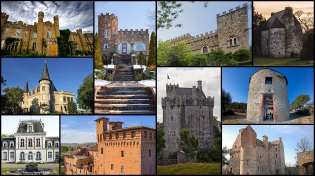 For those still clinging to their mailboxes for an invite to join Prince Harry and Meghan Markle at Windsor Castle as they tie the knot on May 19, it may be time to lower your expectations just a bit. Luckily, Europe and even the United States have castles fit for wannabe princes and princesses to play out their opulent royal real estate fantasies.