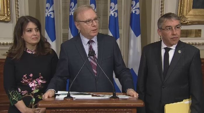 The Parti Quebecois says the budget was built on the backs of Quebecers.
